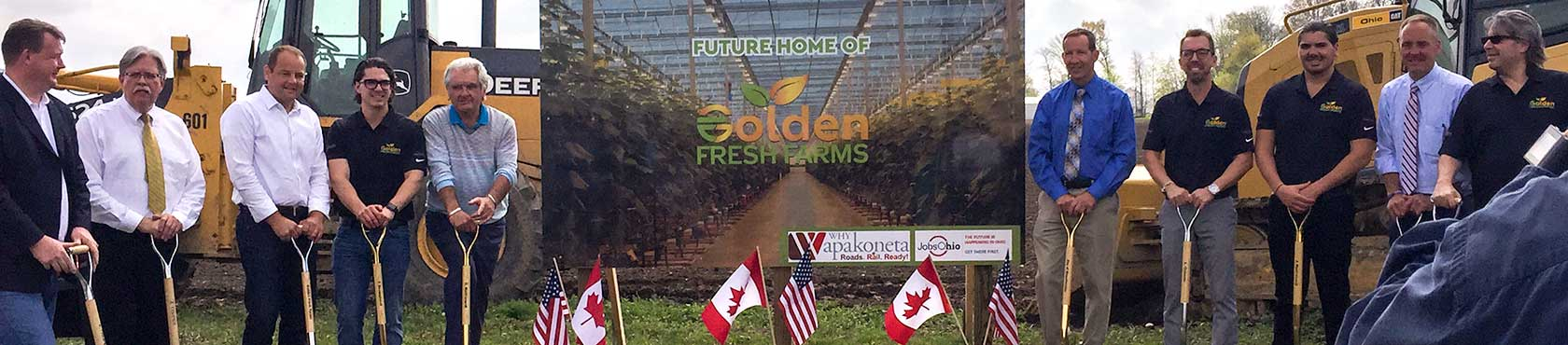 Golden Fresh Farms ground breaking
